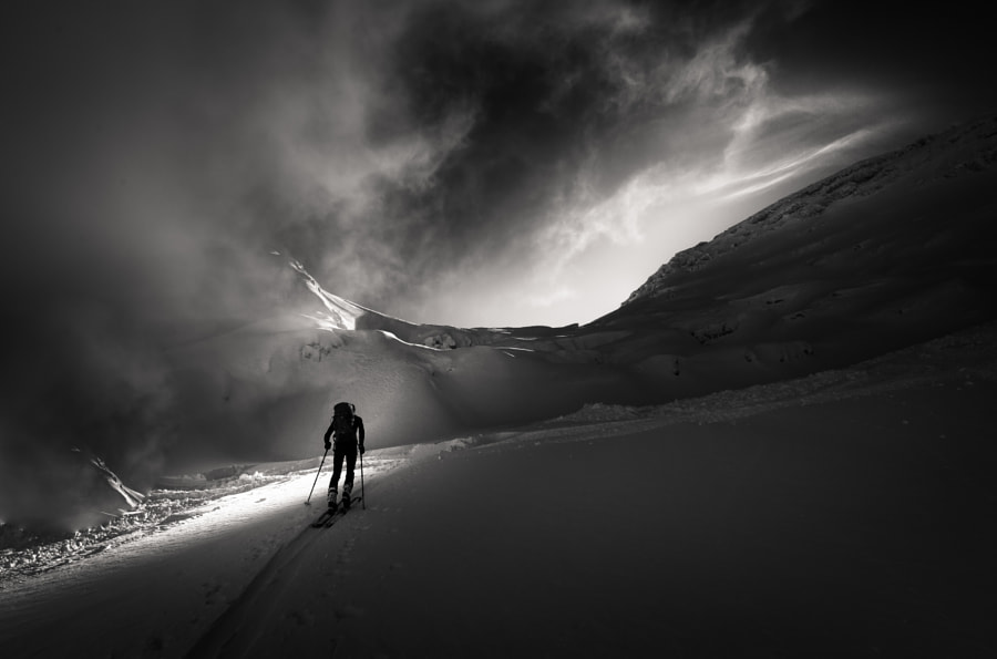 Amazing Lightshow bw by Sandi Bertoncelj on 500px.com