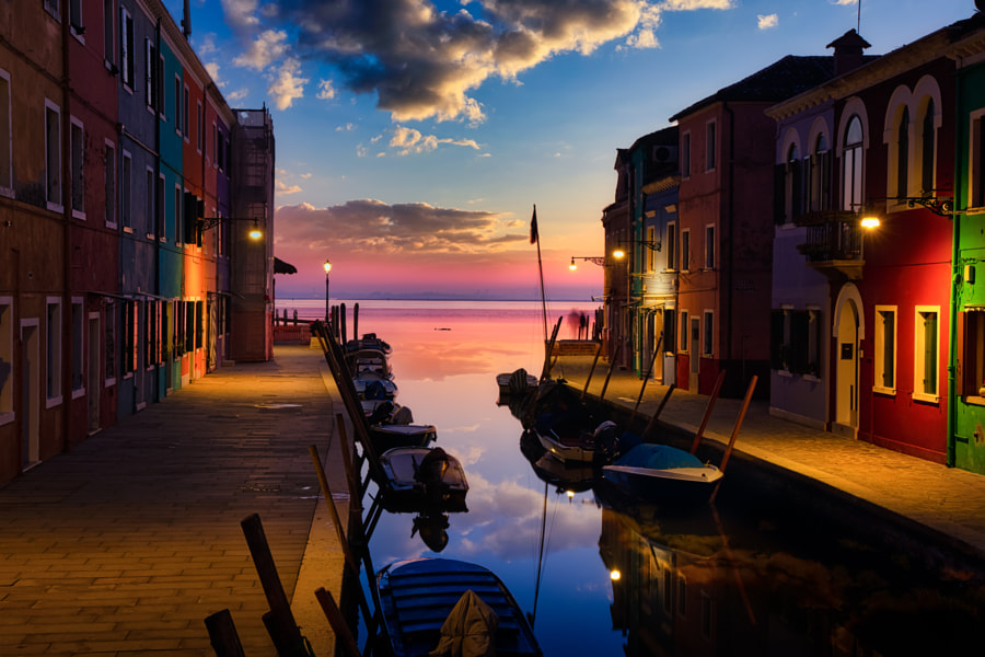 West Burano  by Riccardo Andreoli on 500px.com