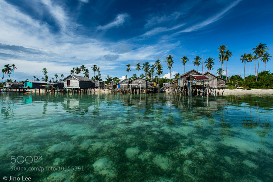 Photograph Village By The Sea by Jino Lee on 500px