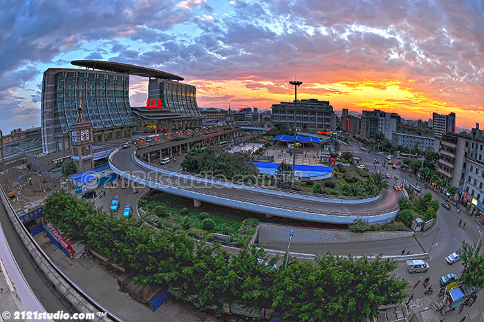 Photograph Kunming Railway Station by Ali Shamsul Bahar on 500px