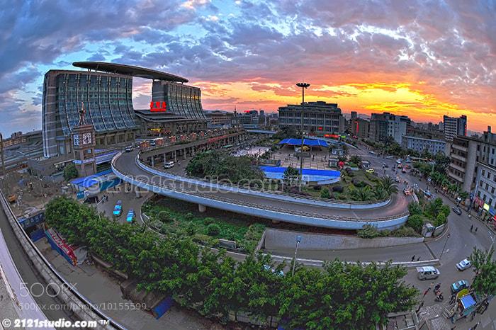 Photograph Kunming Railway Station by Ali Shamsul Bahar on 500px