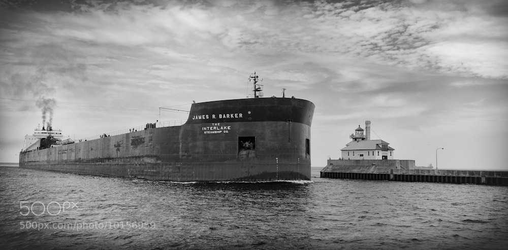 Photograph Great Lakes Shipping by Phil  Pippo on 500px