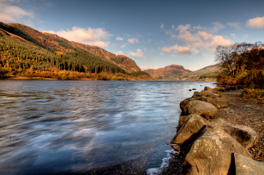Loch Lubnaig Perthshire, Scotland by George O'Toole on 500px.com