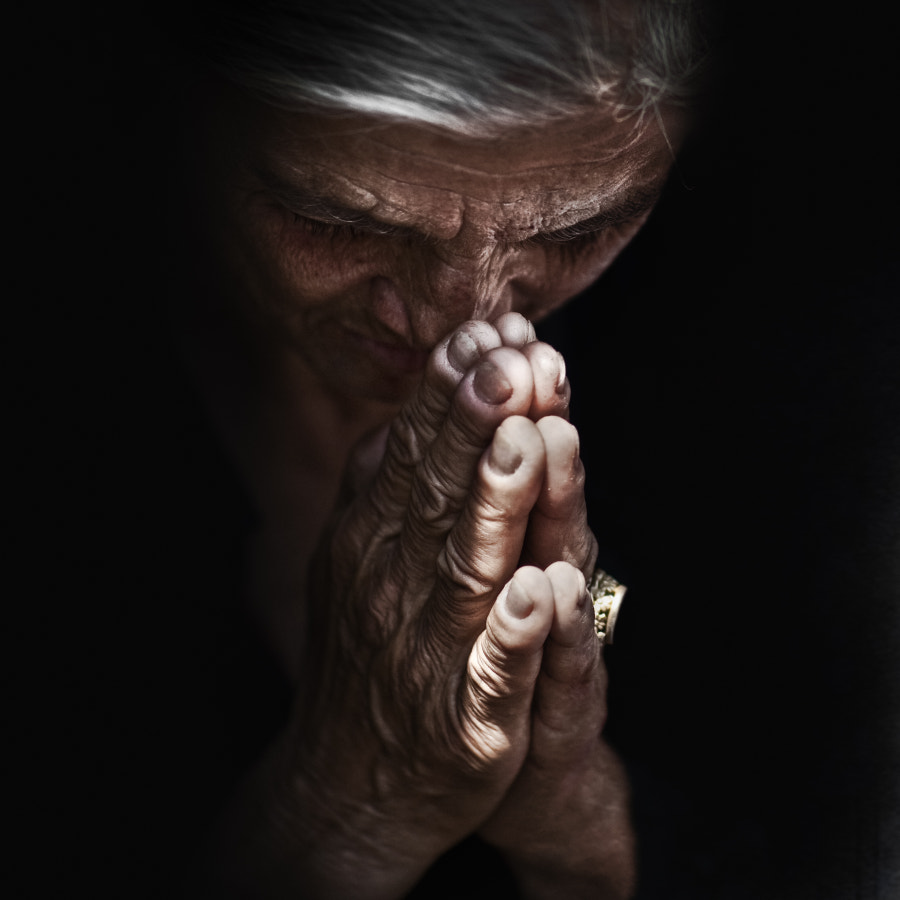 Photograph Lo Spirito Santo by Lee Jeffries on 500px