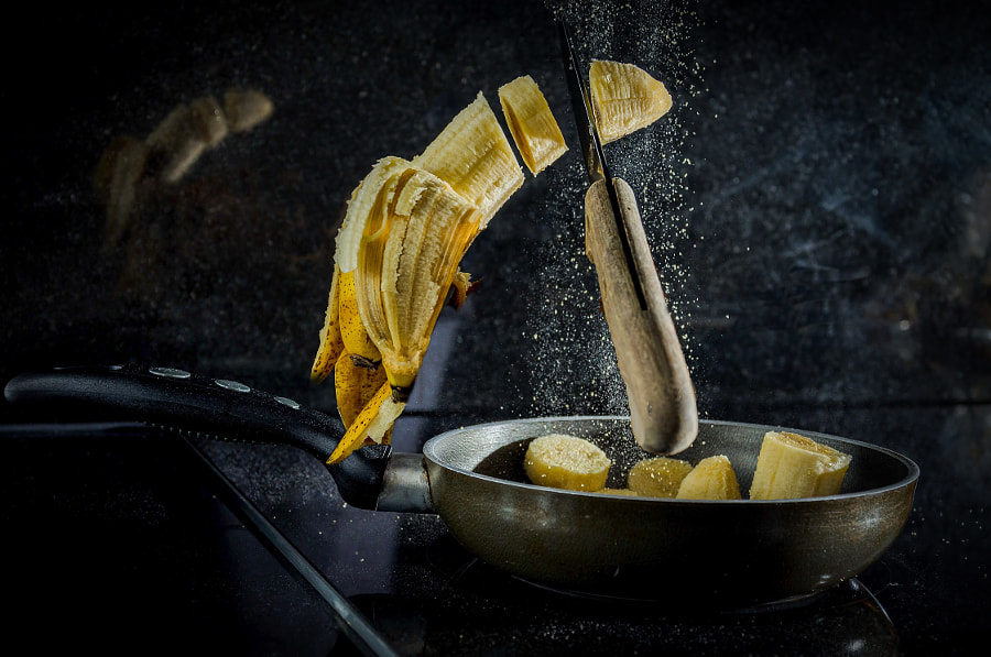 Fried banana by Helder Comba on 500px.com
