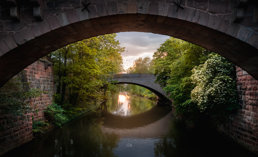 Bridges over the Pegnitz by Croosterpix  on 500px.com