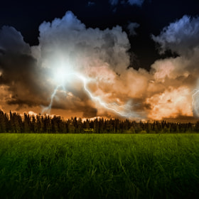Stormy evening by Marek Czaja (MarekCzaja)) on 500px.com