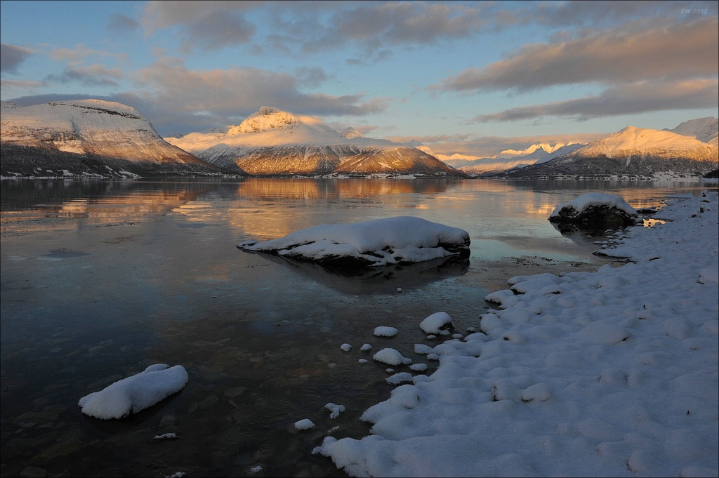Photograph Fjord in the wintertime by Elmar Weiss on 500px