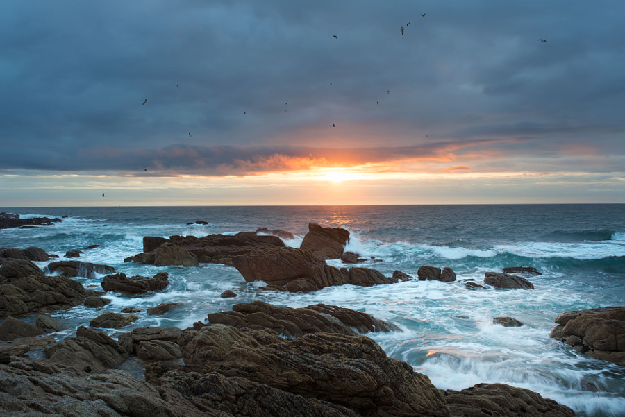 Another sunset in Brittany