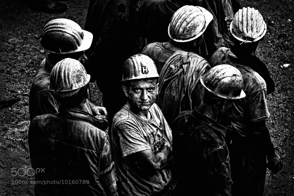 Photograph miners by Murat  Aslankara on 500px