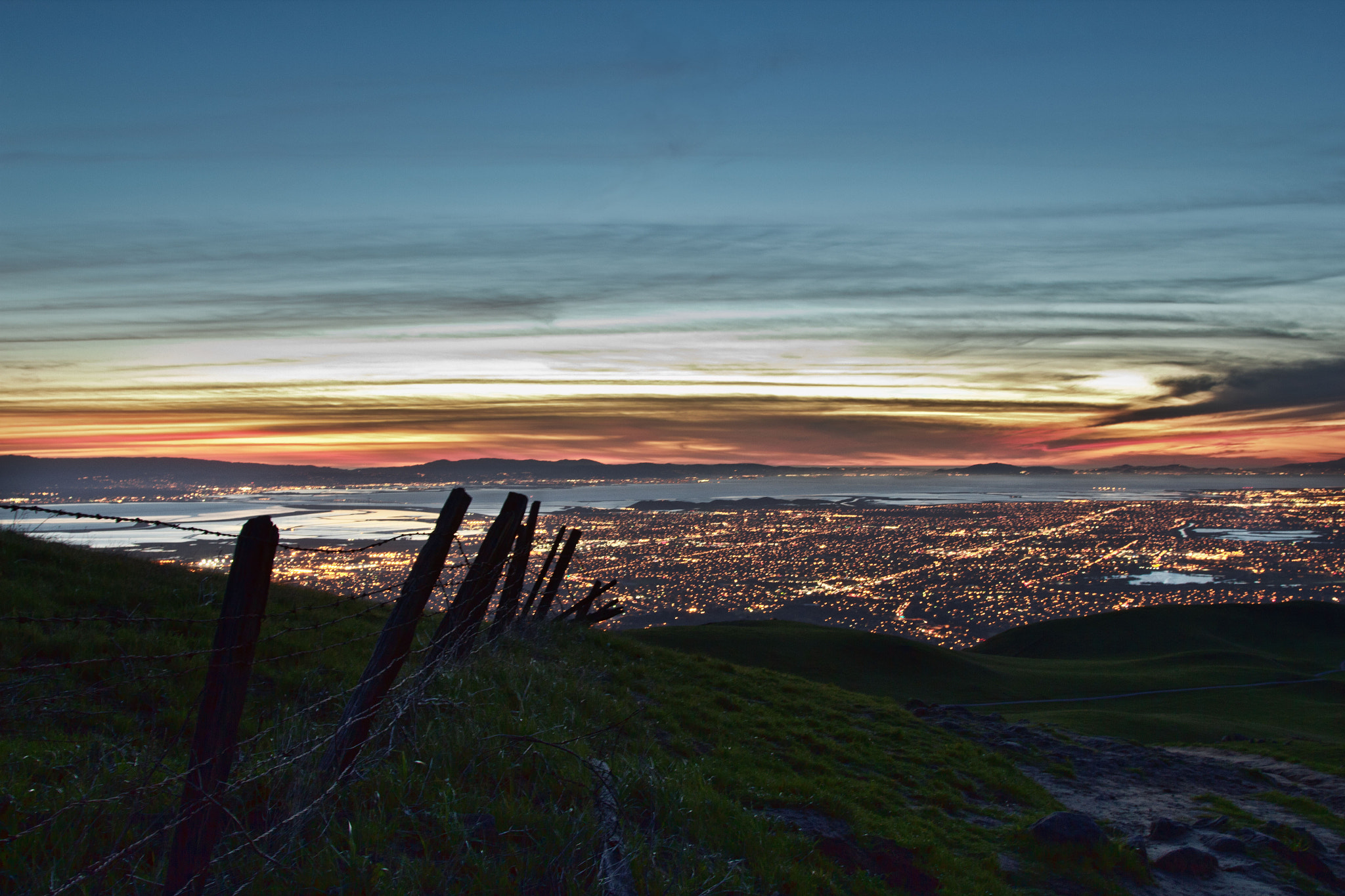 Photograph Sunset Over San Francisco by nick mangiardi on 500px