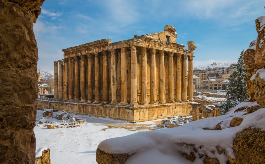 Baalbek Bacchus Temple by richard duerksen on 500px.com