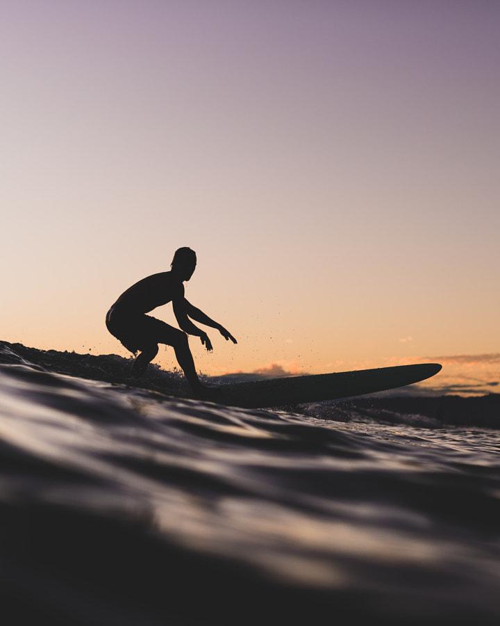 Sunset Surf by Chun Chau on 500px.com