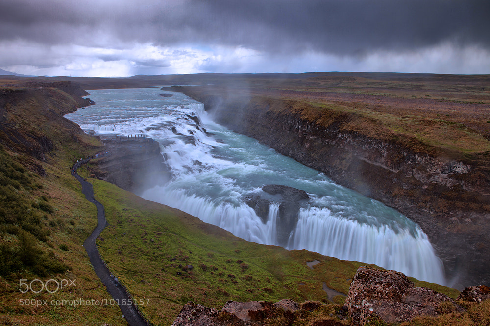 Photograph Gullfoss Waterfall by Aubrey Stoll on 500px
