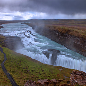 Gullfoss Waterfall by Aubrey Stoll (Night_Gallery)) on 500px.com