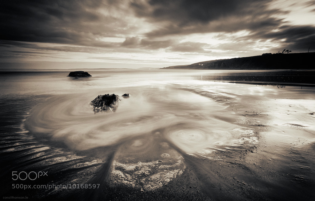 Photograph Inch Beach Sunset I by Conal Thomson on 500px