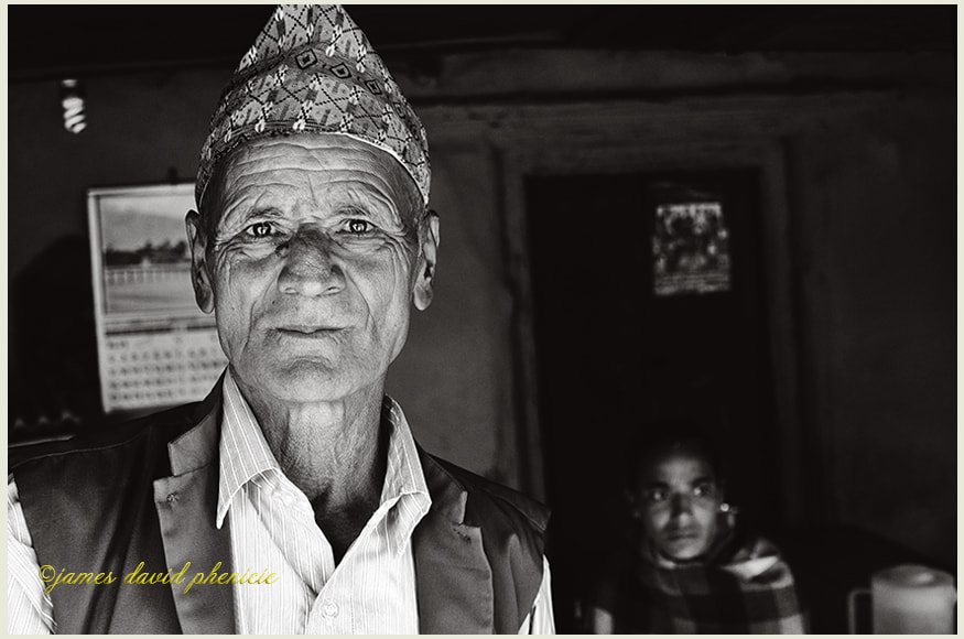 Nepal Series:  Cafe Owner