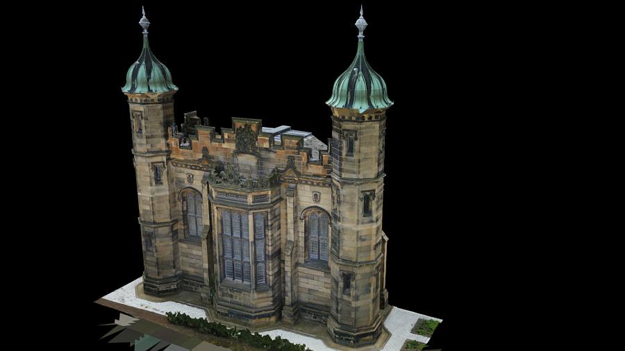 Donaldsons School - Edinburgh -Chapel Detail by UAV 365 on 500px.com