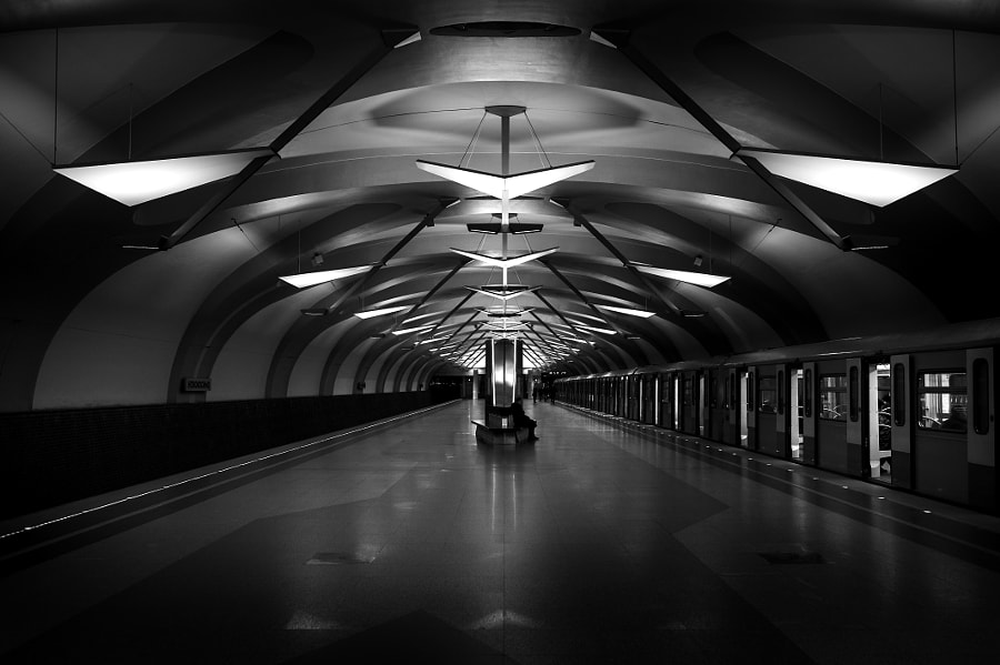 Moscow metro station Novokosino by Yuri Depeche on 500px.com