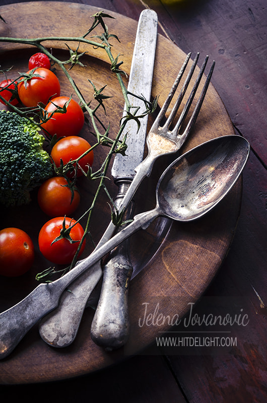 Vegetable in wooden plate by jelena jovanovic on 500px.com