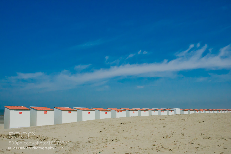 Photograph Beachhouses by Jos Didden on 500px