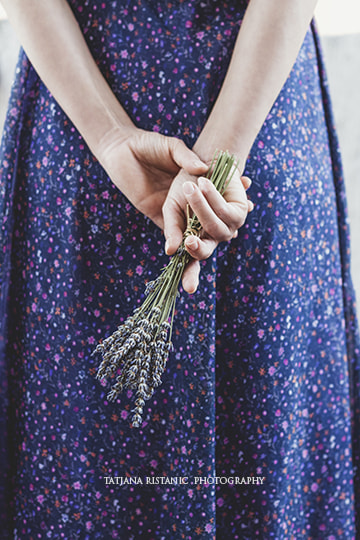 Girl holding lavender by Tatjana Ristanic on 500px.com
