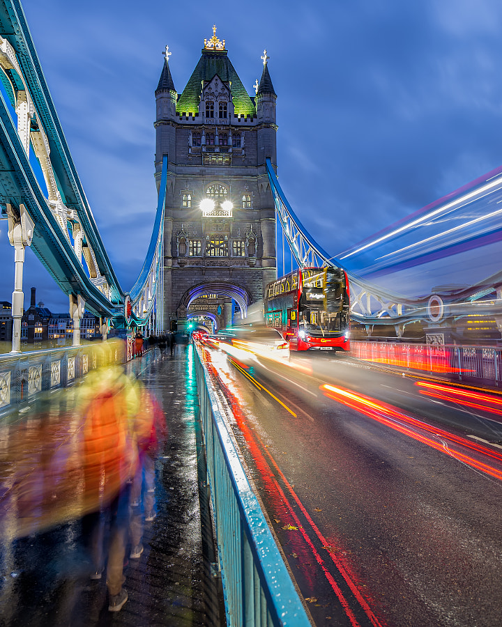 Busy London Life by Faraz Azhar on 500px.com