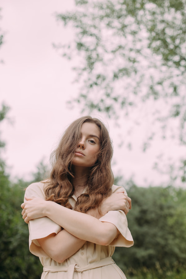 young woman walks in the park by Alena Sadreeva on 500px.com