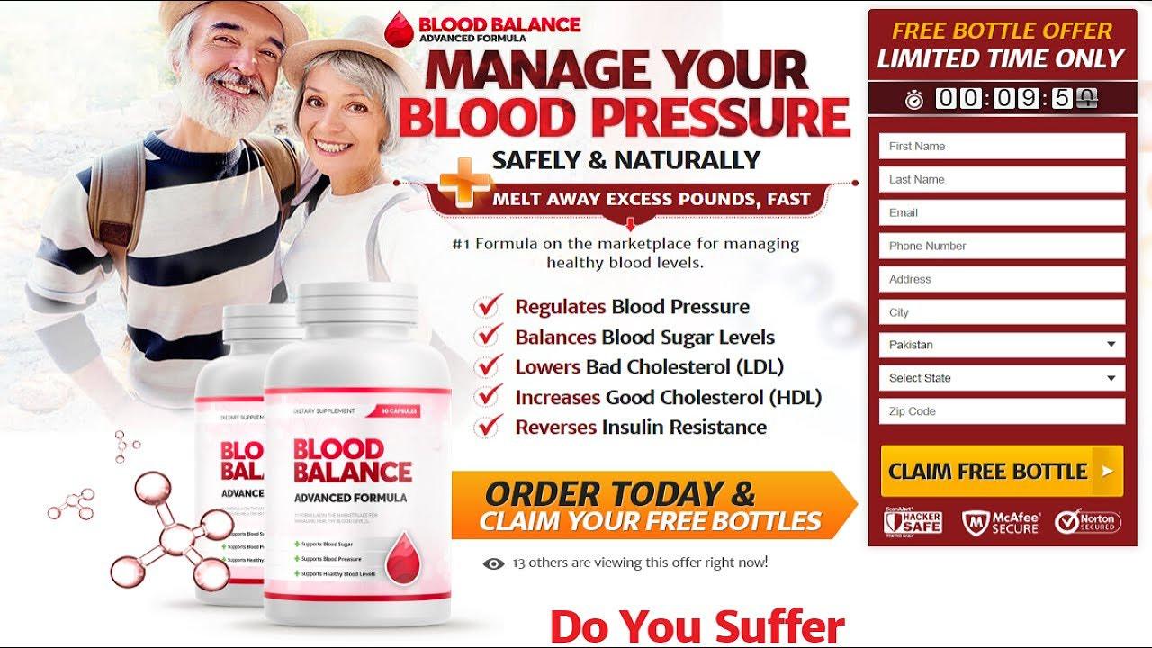 Blood Balance Advanced Formula Reviews !