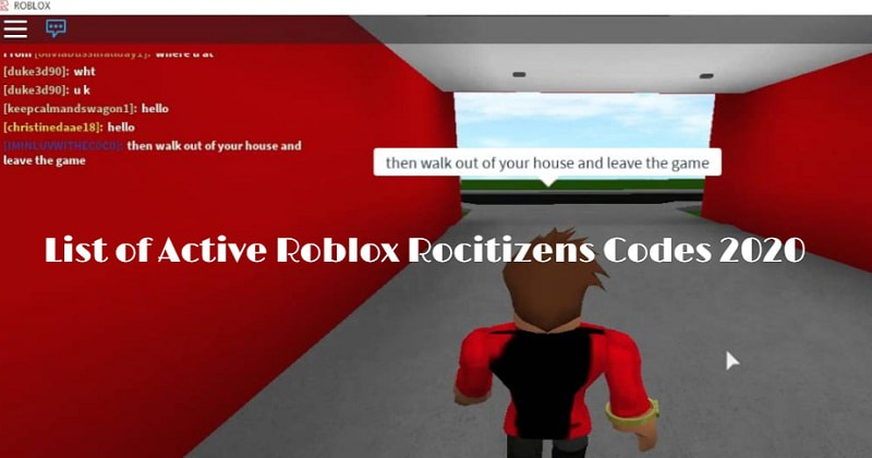 Roblox Rocitizens Codes 2020 - News969