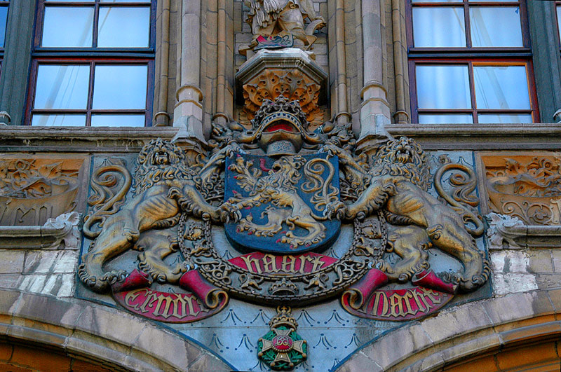 Photograph   COAT OF ARMS of BELGIUM... by Magda Indigo on 500px