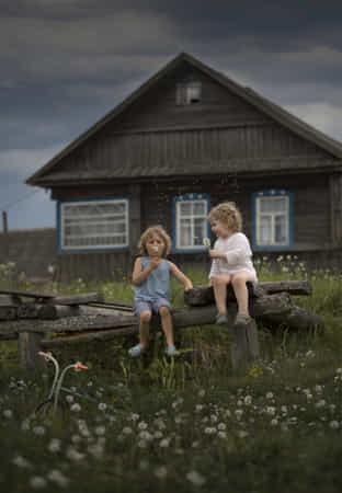 before the storm by Elena Shumilova