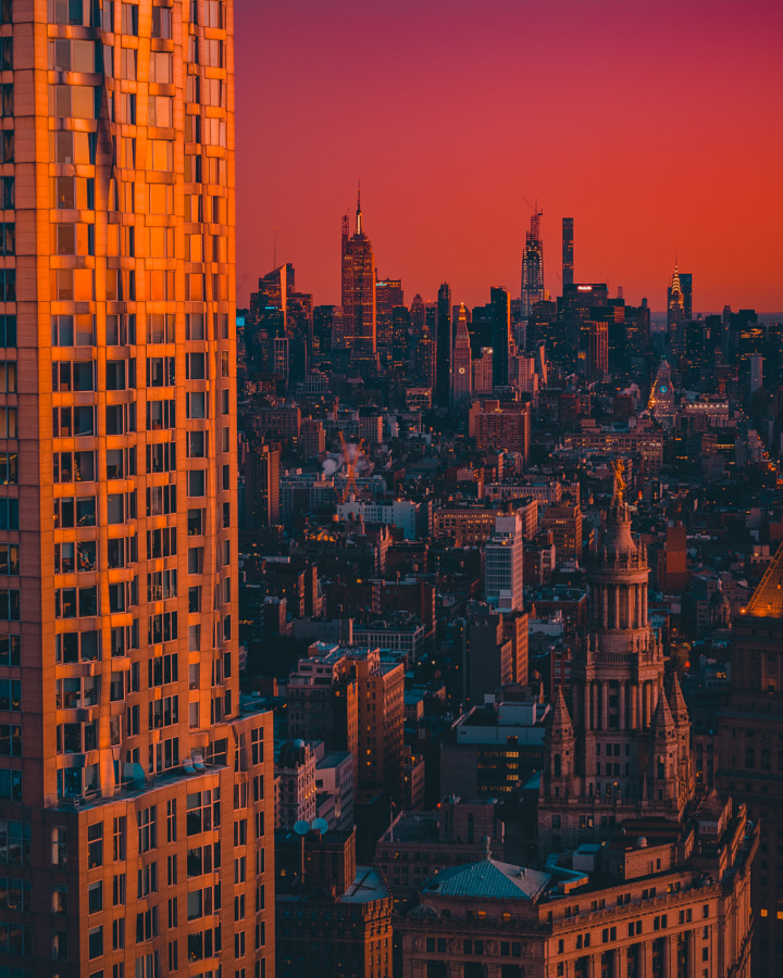 SUNRISE VIEWS FROM 130 WILLIAM by Jaime Penzellna on 500px.com