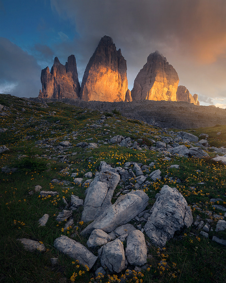 Tre Cime di Lavaredo by Marco Grassi on 500px.com