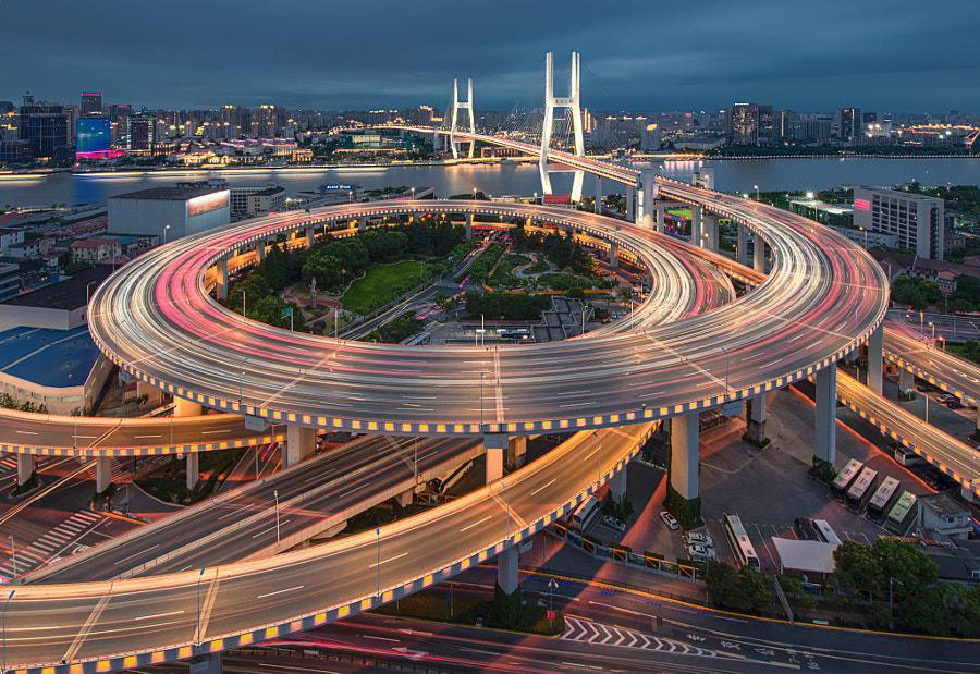 上海南浦大桥…… by Almin  on 500px.com