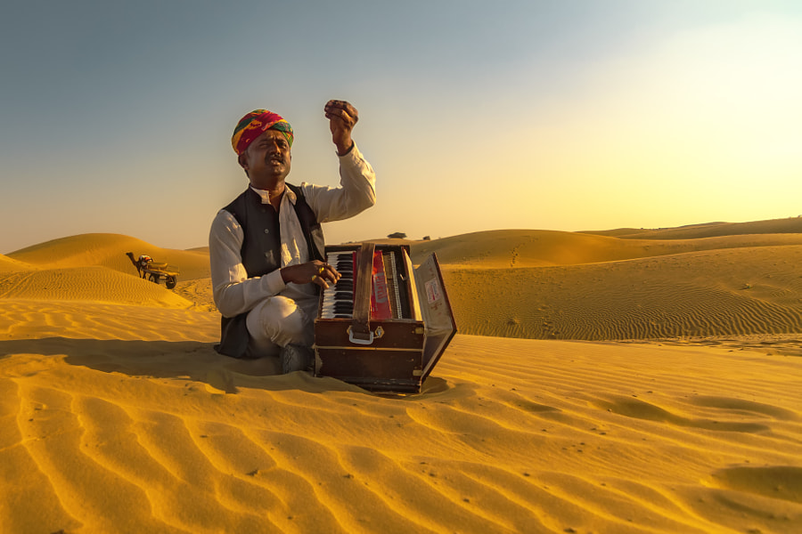 Folk in the Desert by PrithviRaj Banerjee on 500px.com