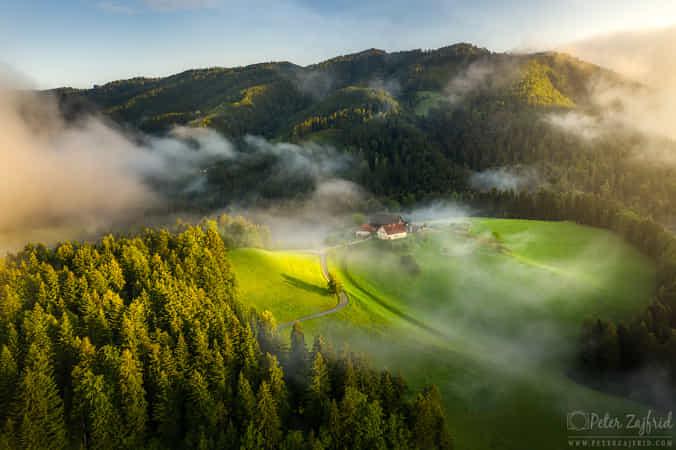 Dreamy morning by Peter Zajfrid