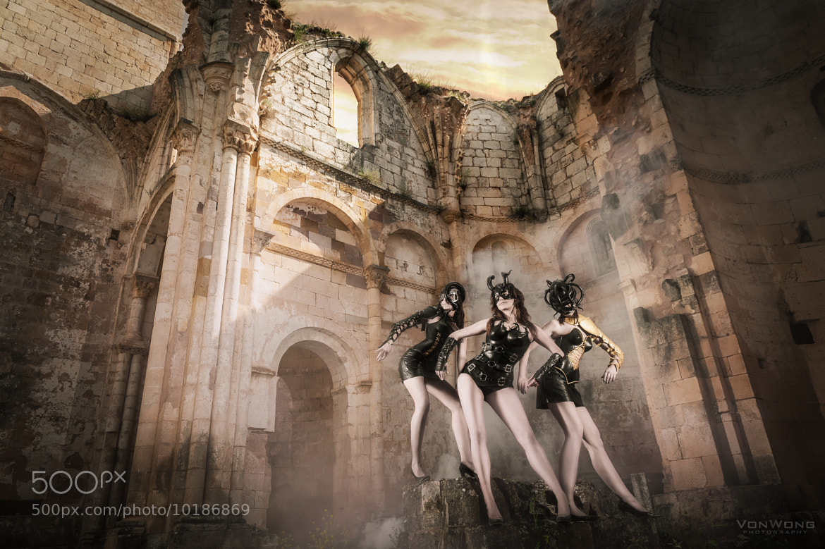 Photograph Leather & Ruins by Benjamin Von Wong on 500px