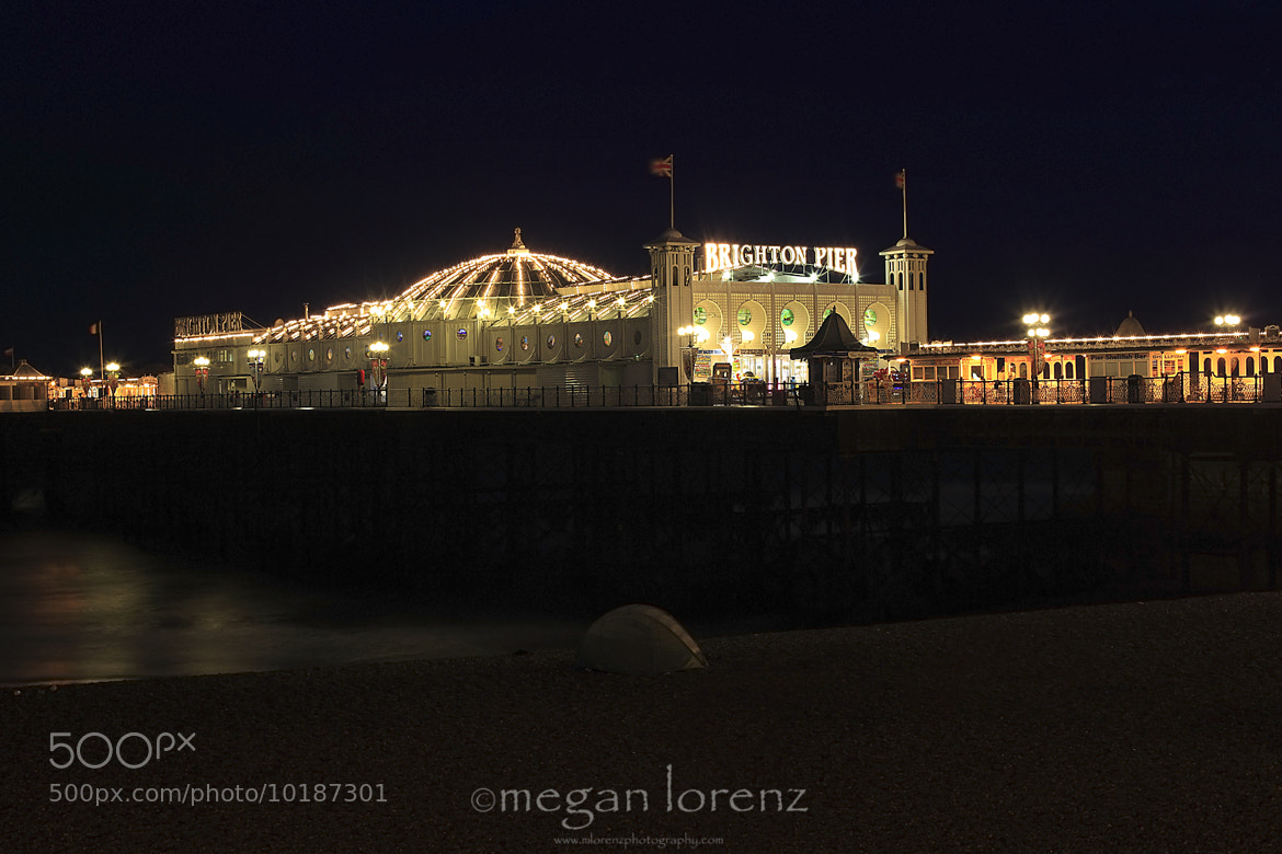 Photograph Brighton Pier by Megan Lorenz on 500px