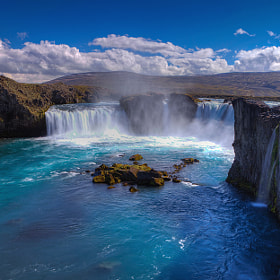Godafoss  by Aubrey Stoll (Night_Gallery)) on 500px.com