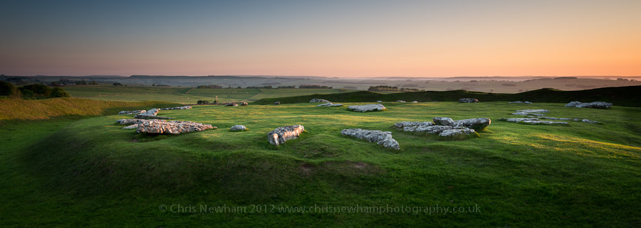Photograph First Light kisses Arbor Low by Chris Newham on 500px