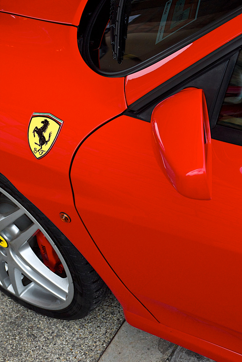 Photograph Rosso Corsa F430 by David Wayne on 500px