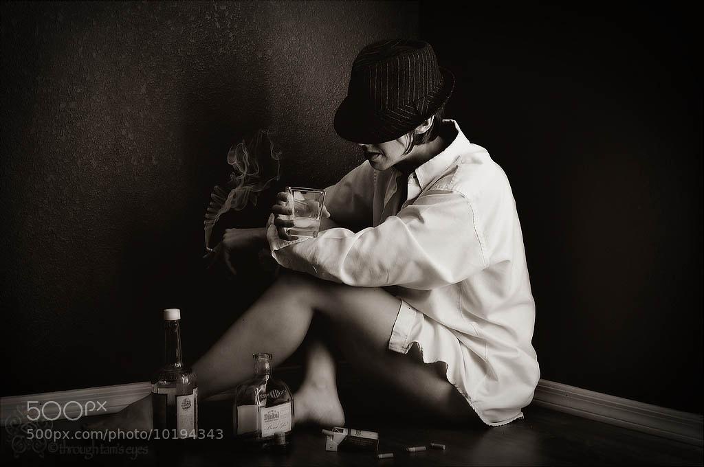 Photograph Smoke Rings In The Dark by Tamara Pruessner on 500px