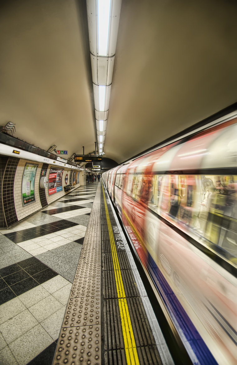 Photograph Departing Tube by James Craxton on 500px