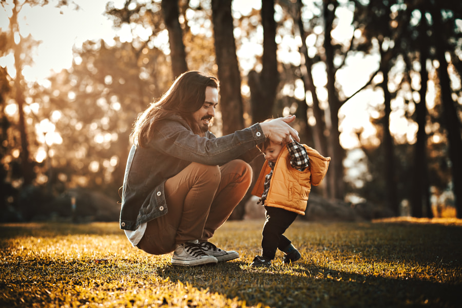 Fun with dad iii by Helena Lopes on 500px.com