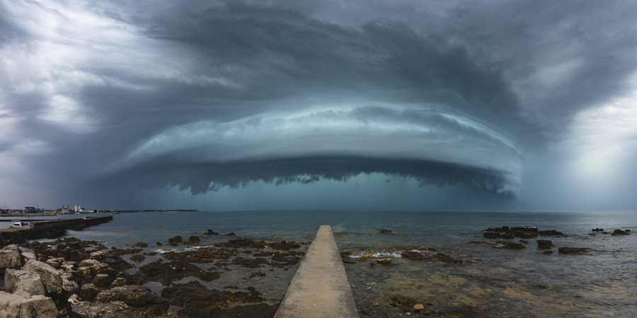 Shelf of Destructive Storm by Jure Batagelj on 500px.com