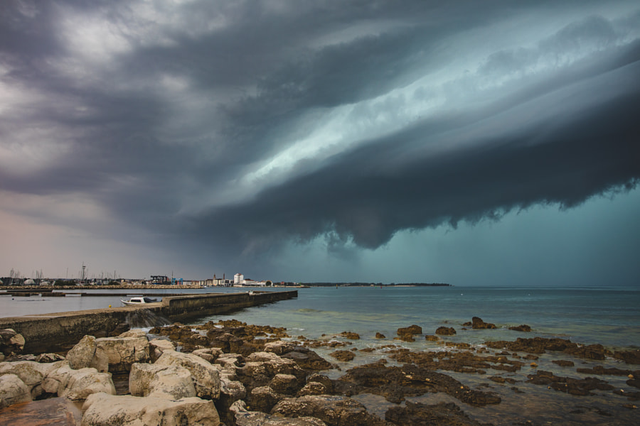 Storm Impact by Jure Batagelj on 500px.com