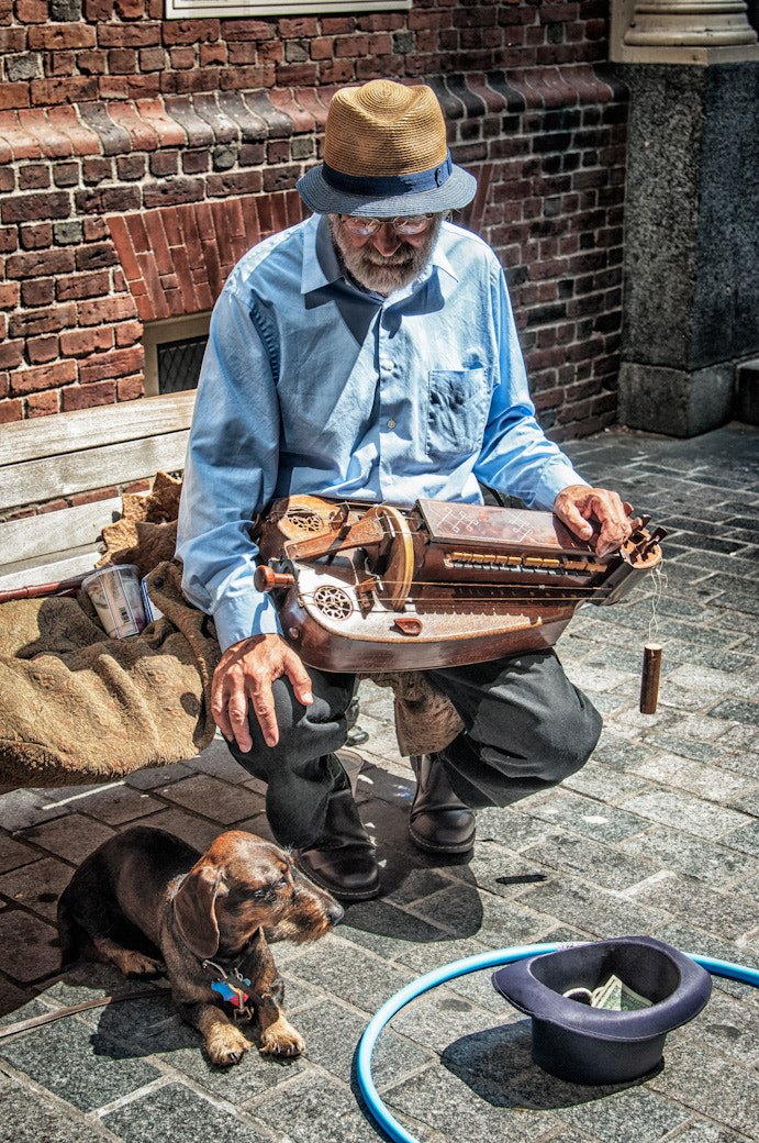 Photograph A Man, A Dog, and His Music by Bob Kelly on 500px