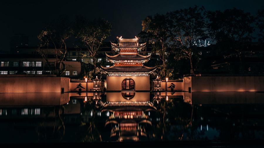 南京夫子庙明远楼 by 雨花石  on 500px.com