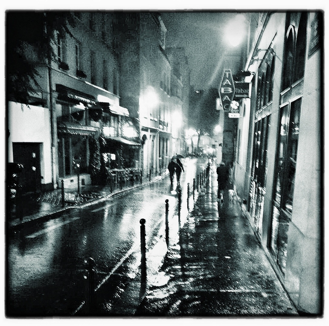 Photograph Paris in the rain, 2012 by Eddie Power on 500px